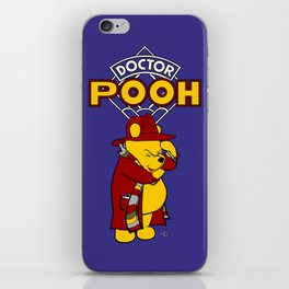 Doctor Pooh iPhone Skin
