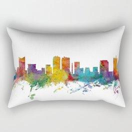 Fort Worth Texas Skyline Rectangular Pillow