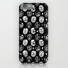 Máscaras (Black & White) iPhone Case
