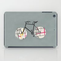 cycle iPad Cases featuring Cycle cycle by fotos de almanaque