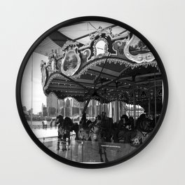 Merry-Go-Round Wall Clock