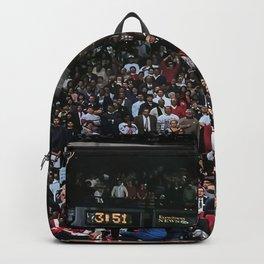 """Michael Jor-dan Print   """"Air Jordan"""" dunk at the 1988 All-Star Slam Dunk Competition   Poster   Premium Quality Print Backpack"""