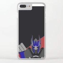 Optimus Prime Clear iPhone Case