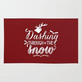 Dashing- Red Rug