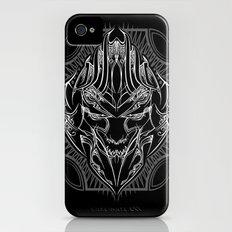 Pinstripe Megatron Slim Case iPhone (4, 4s)