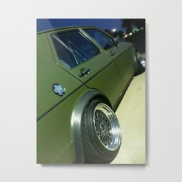 Green Jetta Metal Print