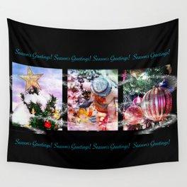 Christmas Trio Wall Tapestry