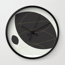 Shape and Form Wall Clock