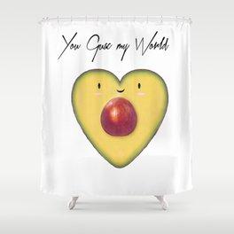 You Guac my World Shower Curtain
