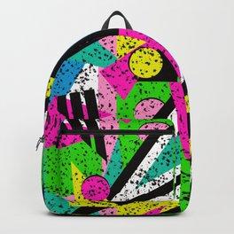 80's Shape Splatter Backpack
