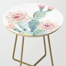 The Prettiest Cactus Side Table