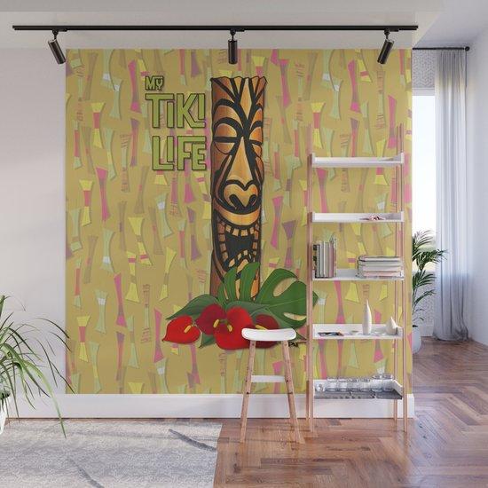 Tiki Pole Art #1 by patartbykevin
