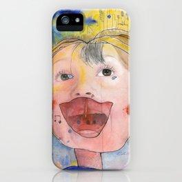 I feel happy iPhone Case