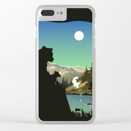 Out For Adventure Clear iPhone Case