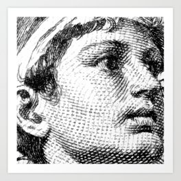 Classical Youth Art Print