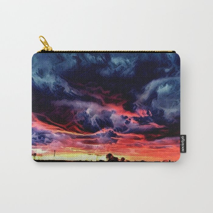 Sunset over the Horizon (Gorgeous Landscape) Carry-All Pouch