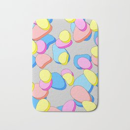 Stacking Pieces of Candy Bath Mat