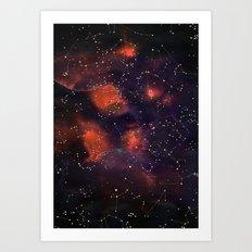Le Cosmos Art Print