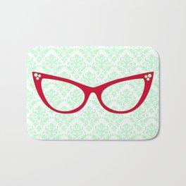 Red Specs Bath Mat