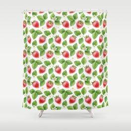 Strawberry jam Shower Curtain
