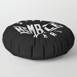 Stay Humble Hustle Hard Floor Pillow