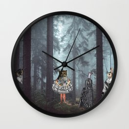 KID'S EATERS Wall Clock