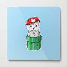 Meow Bro 1 Metal Print