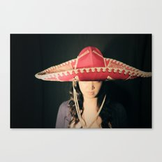 Asian Sombrero Awesome Canvas Print