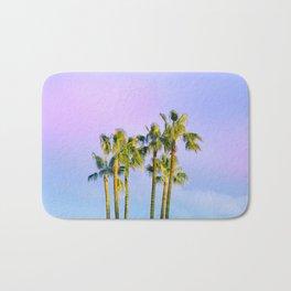 Summer Dreams with Palms Bath Mat
