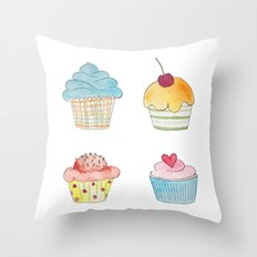 Oh My Sweetness! Throw Pillow