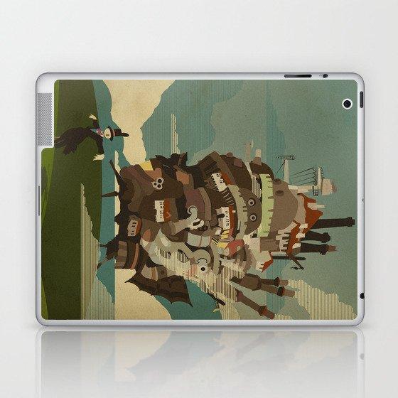 Moving Castle Laptop & iPad Skin
