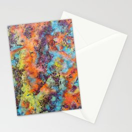 Playing colors Stationery Cards