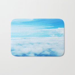 Life Above the Clouds Bath Mat