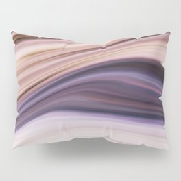 Lush Lavender Purple Abstract Pillow Sham