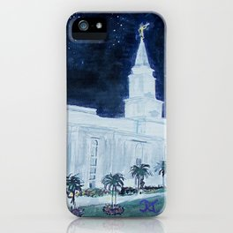 Guayaquil Ecuador LDS Temple iPhone Case