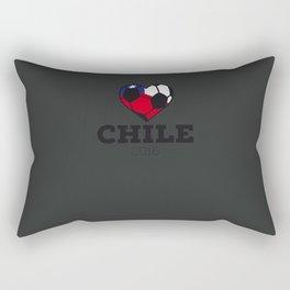 Chile Soccer Shirt 2016 Rectangular Pillow