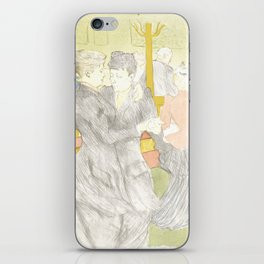 "Henri de Toulouse-Lautrec ""Two Woman Dancing"" iPhone Skin"