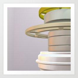 Industry Artwork Element 3D Art Print