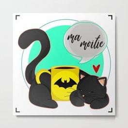 Ma Moitie (Jane + Maximoff) Metal Print