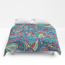 Leaves and Paisleys Comforters