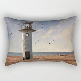 Sunny afternoon at the estonian coast Rectangular Pillow