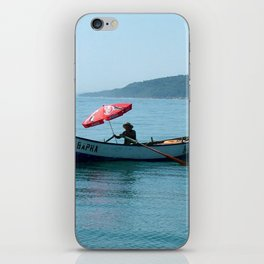 One Man and His Boat iPhone Skin