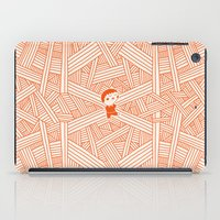labyrinth iPad Cases featuring Labyrinth by Jarvis Glasses