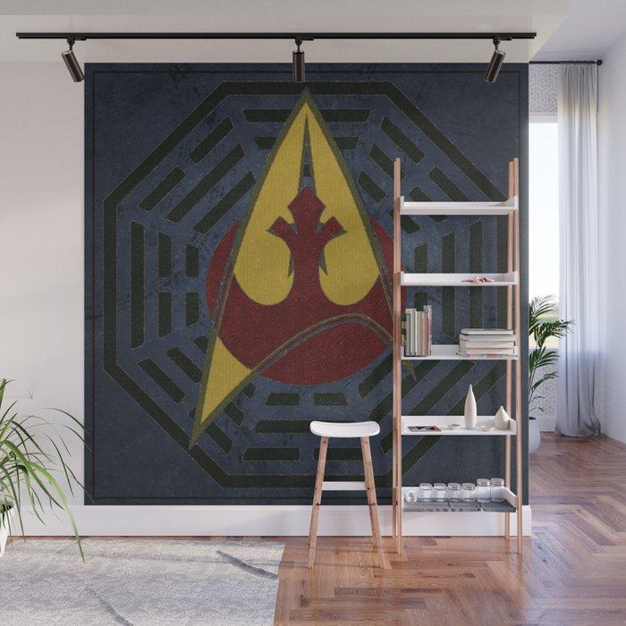 Lost Trek Wars: Square Variant Wall Mural
