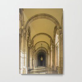 Enfilade of Royal palace, Madrid Metal Print