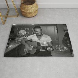 Cuban Guitarist Rug