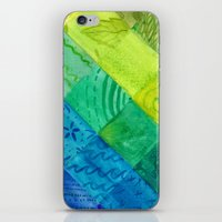 bali iPhone & iPod Skins featuring Bali Quilt by Catherine Holcombe