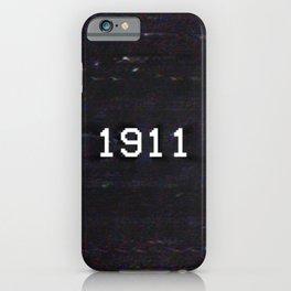 1911 iPhone Case