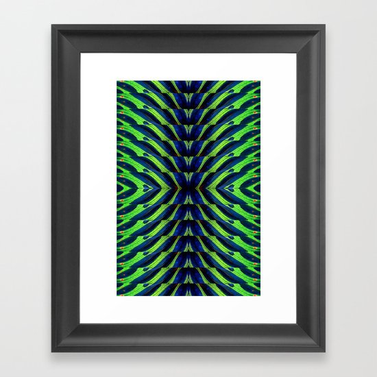 REFLECTED MARANTA Framed Art Print