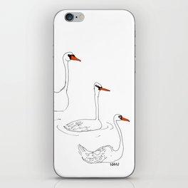 Queen's Swans iPhone Skin